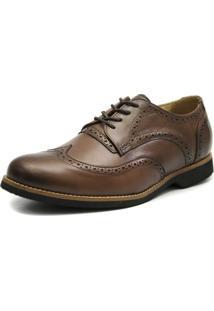 Sapato Oxford Shoes Gran - Masculino-Marrom