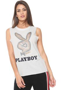 Regata Ellus Playboy Cristal Off-White