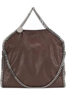 Stella Mccartney Large Falabella Shoulder Bag - Marrom