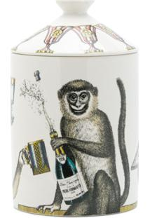 Fornasetti Vela Com Estampa Monkey - Estampado