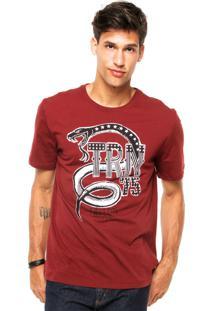 Camiseta Triton Cobra Vinho
