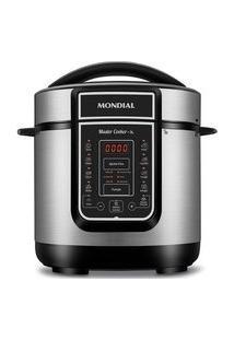 Panela De Pressão Elétrica Mondial Digital Master Cooker, 3 Litros, 220V, Inox - Pe-40