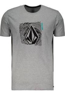 Camiseta Volcom Stonar Waves Slim Masculina - Masculino