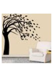 Adesivo De Parede Árvore 03 - P 45X48Cm