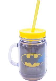 Caneca Minas De Presentes Batman Preto