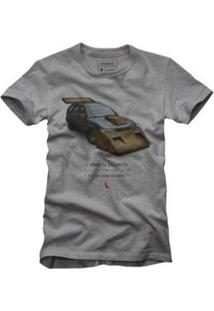 Camiseta Reserva Carro Alegórico Masculina - Masculino-Cinza
