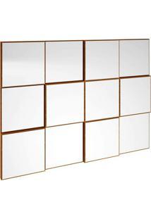 Painel Decorativo- Espelhado & Nobre- 75X100X5Cmdalla Costa