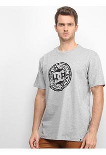 Camiseta Dc Shoes Basic Circle Star Masculina - Masculino