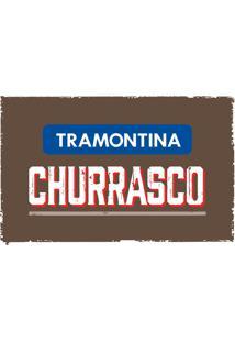 Conjunto Para Churrasco 2 Peças Inox 22299012 Tramontina
