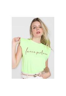Camiseta Lança Perfume Mucle Tee Neon Verde