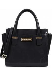 Bolsa Petite Jolie Love Bag Feminina - Feminino-Preto