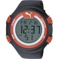 747d3b60a09 Relógio Digital Puma 96266Mo - Masculino - Preto Vermelho