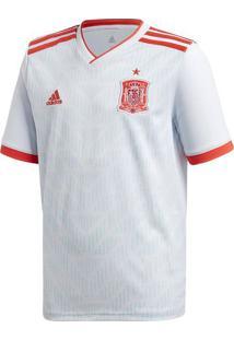Camisa Espanha Ii - Branca & Vermelha - Adidasadidas