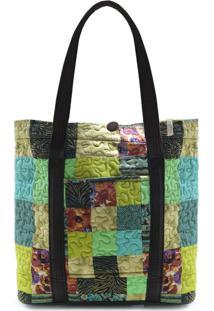 Bolsa Dakota Clover Em Patchwork Original - Multicolorido - Feminino - Dafiti