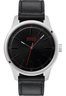 391c1eedef6 ... Relógio Hugo Boss Masculino Couro Preto - 1530018