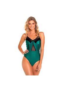 Maiô & Body Kalini Beachwear Aro Premium Emerald