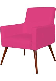 Poltrona Decorativa Lyam Decor Maria Corino Pink - Rosa - Dafiti