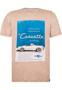 Camiseta Masculina Advertising Memories Corvette Incolor