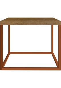 Mesa Cube P Vermont/Cobre Artesano Móveis