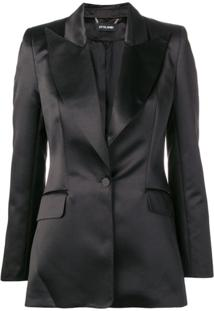 Styland Single-Breasted Blazer - Preto