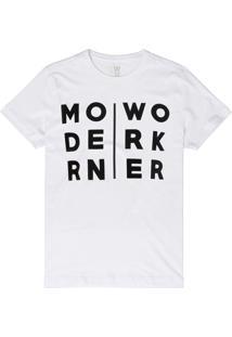 T-Shirt West Coast Modern Worker Branco