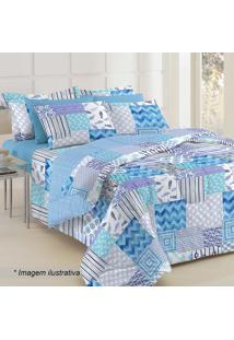 Conjunto De Cobre Leito & Protetor De Travesseiros Diamante Teka