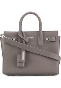 Saint Laurent Bolsa Tote 'Sac De Jour' Mini - Cinza