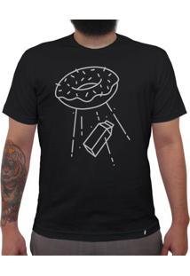 Abdução - Camiseta Clássica Masculina