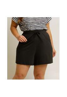 Short Plus Size Feminino Cintura Alta Marisa