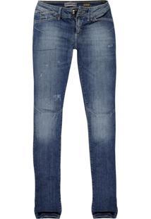 Calça Jeans Khelf Feminina Skinny Jeans Azul