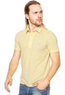 Camisa Polo Sergio K Tag Amarela