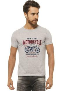 Camiseta Joss - New York - Masculina - Masculino-Mescla