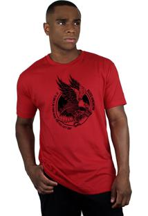 Camiseta Bleed American Eagle Vermelha