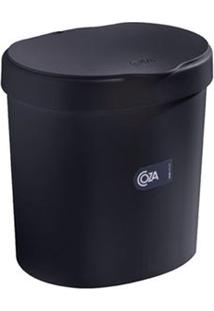 Lixeira Para Pia Preta 2,5L 10906/0008 - Coza - Coza