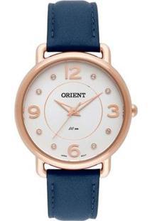 Relógio Feminino Orient Analógico Frsc0006 S2Dx Do - Unissex-Marinho