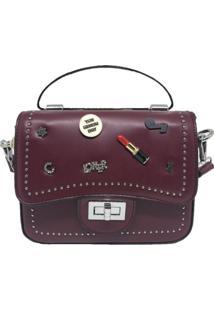 Mini Bolsa Sys Fashion Casual Importada 8301 Vinho