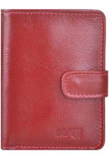Carteira Mariart 173C - Unissex-Vermelho