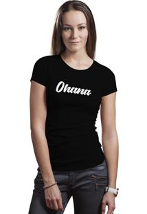 Camiseta Hunter Ohana Preta.