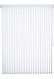 Persiana Tecido 89Mm Isadora Design Vertical 2,40Mx1,80M Branco