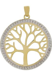 Pingente Narcizza Semijoias Árvore Da Vida Ouro