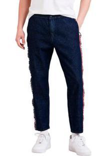 Calça Jeans Levis Masc Breakaway Pant 4 Way Stretch Escura Masculina - Masculino-Azul Escuro