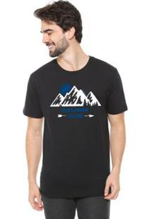 Camiseta Talismã Store De Algodão Eco Canyon Explore Club Masculina - Masculino-Preto