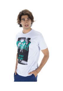 Camiseta Fatal Estampada 22149 - Masculina - Branco