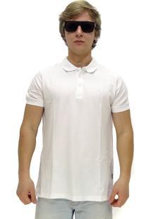 Camisa Polo Maresia Social Branca