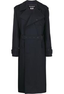 Junya Watanabe Belted Trench Coat - Azul