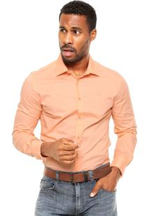 Camisa Forum Bordado Coral