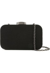 Whiting And Davis Clutch Hollywood - Preto
