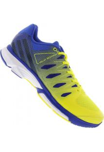 Tênis Adidas Volley Response 2 Boost - Masculino - Amarelo/Azul