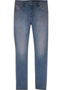 Calça John John Skinny Belém Jeans Azul Masculina (Jeans Medio, 46)