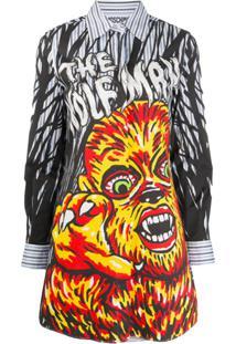 Moschino Chemise The Wolfman - Preto